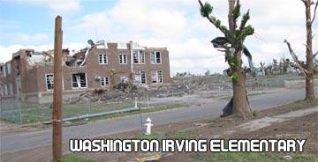 Washington Irving Elementary destoryed