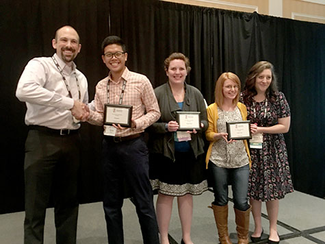 college of education naspa conference won by student