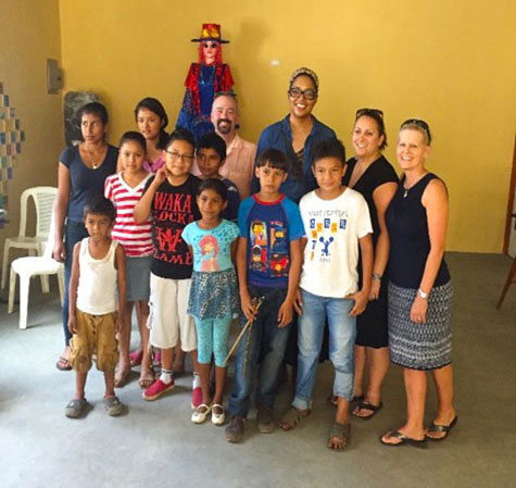 nsu's drs vanessa anton, allyson watson, jim ferrell and lisa bisogno  travels to nicaragua for justhope dot org