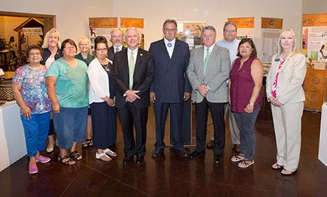 nsu president steven turner and the keetoowah band of cherokee indians