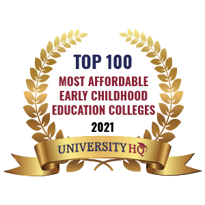 UniversityHQ ranks NSU Early Childhood #35 Most Affordable